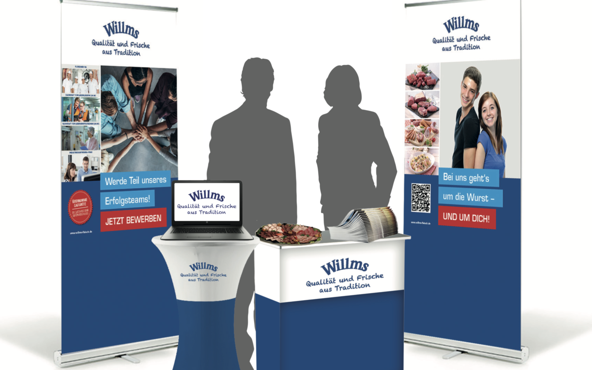 Willms Messestand